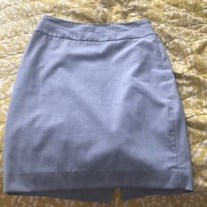 Limited Gray Pencil Skirt